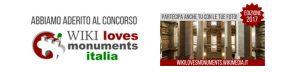 """Abbiamo aderito al Concorso """"Wiki loves monuments Italia"""" - Partecipa con le tue foto"""